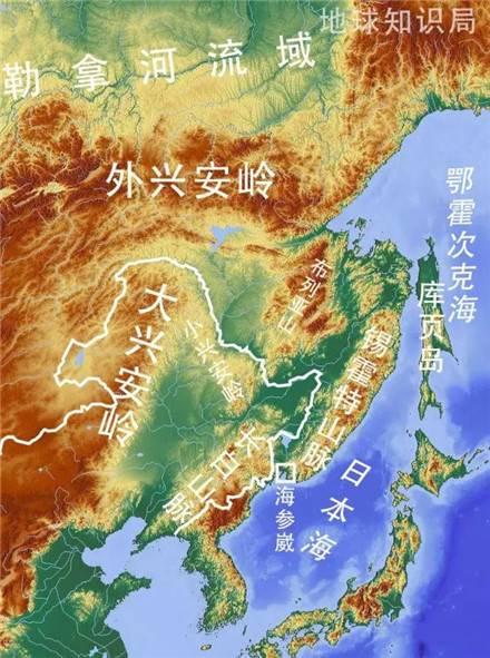 东三省地图图高清版