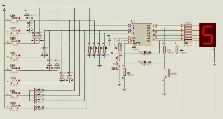 现在有了这些基本的逻辑门电路,离芯片就不远了.
