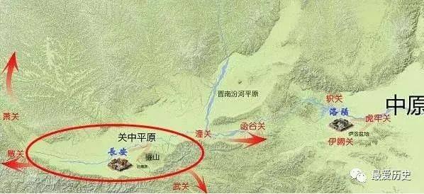 秦川镇地图
